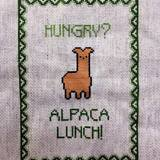 Thumb 28 alpaca lunch